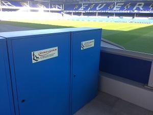 Everton FC invests in evacuation equipment
