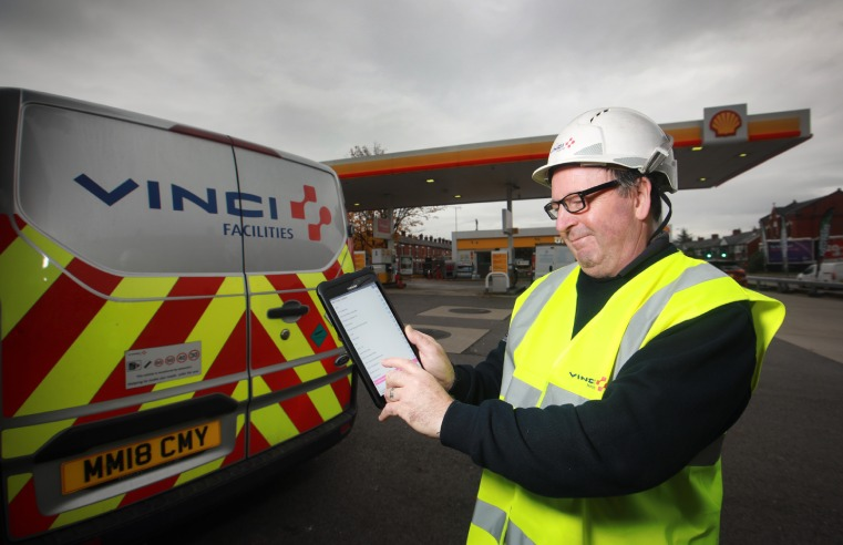 VINCI FACILITIES EXTENDS DEAL WITH SHELL UK RETAIL