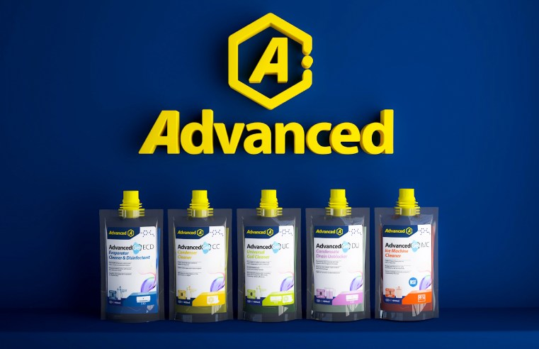 ADVANCED LAUNCHES NEW COMPACT HVAC/R CLEANING GELS RANGE