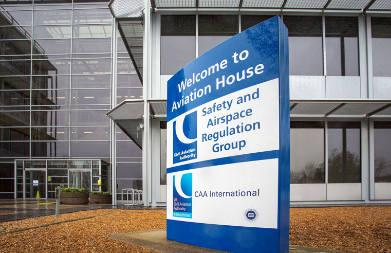 SALISBURY GROUP PREPARE FOR TAKE-OFF WITH CIVIL AVIATION AUTHORITY