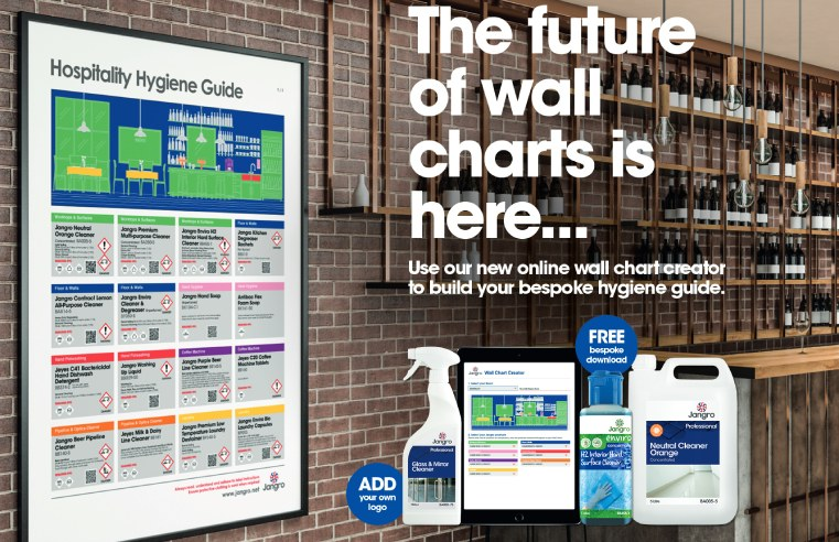 JANGRO LAUNCHES DIGITAL CLEANING WALL CHARTS FOR HOSPITALITY SECTOR
