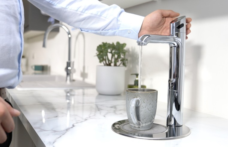 ZIP WATER LAUNCHES TOUCH-FREE BOILING, CHILLED AND SPARKLING HYDROTAP