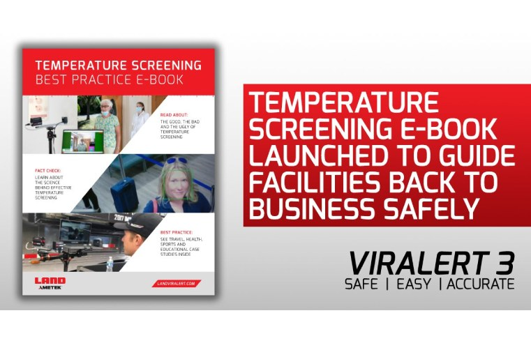 TEMPERATURE SCREENING E-BOOK LAUNCHED BY AMETEK