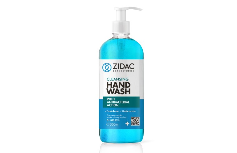 ZIDAC LABORATORIES CONTINUES EXPANSION WITH HAND WASH LAUNCH