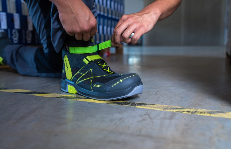 THE NEXT STEP: THE FUTURE OF SAFETY FOOTWEAR