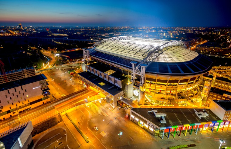 AMSTERDAM'S JOHAN CRUIJFF ARENA PARTNERS WITH SECURITY & SAFETY THINGS