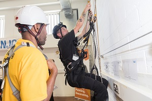 Aerial window cleaning training academy launched at HMP & YOI Isis